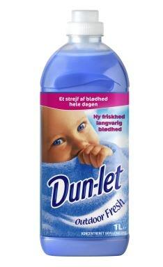 Dun-let skyllemiddel 1 l. outdoor fresh (10)