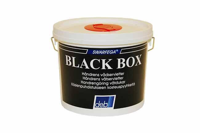 Black box 150 stk.