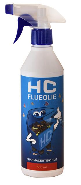 HC flueolie 500 ml.